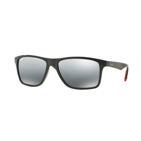 Ray-Ban RB4234 618588 | Frame: grey | Lenses: grey silver mirror gradient