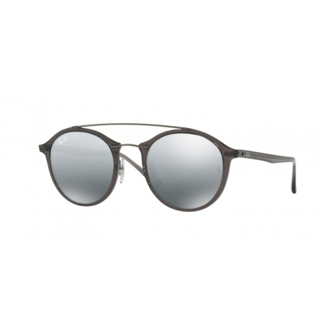 Ray-Ban RB4266 620088 | Frame: grey | Lenses: grey silver mirror gradient