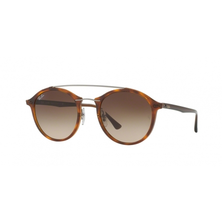 Ray-Ban RB4266 620113 | Frame: brown | Lenses: brown gradient dark brown