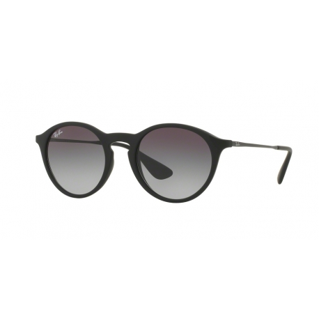 Ray-Ban RB4243 622/8G | Frame: black rubber | Lenses: grey gradient dark grey