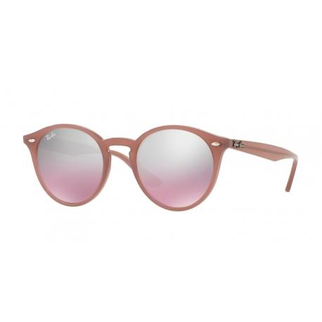 Ray-Ban RB2180 62297E | Frame: opal antique pink | Lenses: pink silver mirror gradient