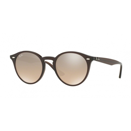 Ray-Ban RB2180 62313D | Frame: opal brown | Lenses: brown silver mirror gradient