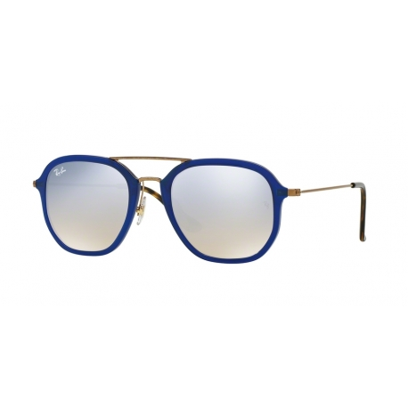 Ray-Ban RB4273 62599U | Frame: shiny blue | Lenses: grey mirror gradient