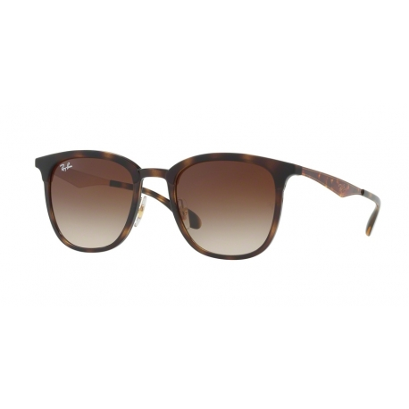 Ray-Ban RB4278 628313 | Frame: havana, matte havana | Lenses: brown gradient