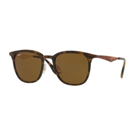 Ray-Ban RB4278 628373 | Frame: havana, matte havana | Lenses: dark brown