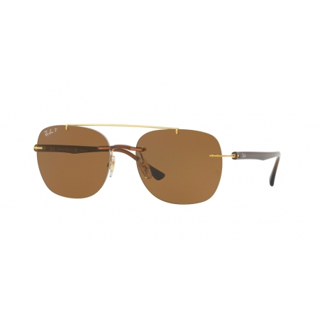 Ray-Ban RB4280 628783 | Frame: brown | Lenses: brown polarized