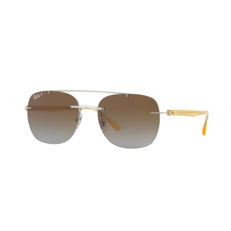 Ray-Ban RB4280 6288T5 | Frame: transparent | Lenses: brown polarized gradient