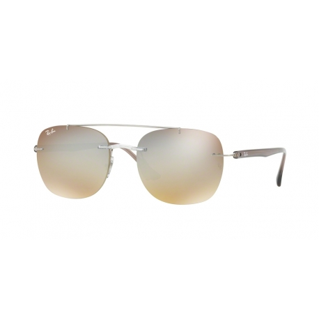 Ray-Ban RB4280 6290B8 | Frame: transparent | Lenses: gradient brown silver mirror