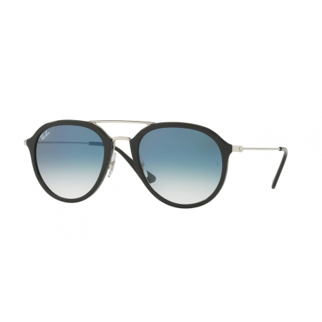 Ray-Ban RB4253 62923F | Frame: black | Lenses: transparent gradient blue