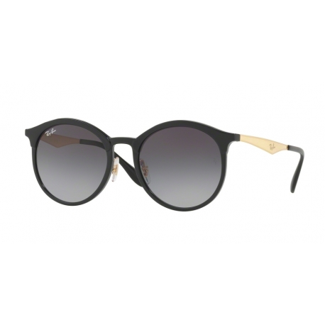 Ray-Ban RB4277F Emma 6306T3 | Frame: black | Lenses: light grey gradient dark grey polarized
