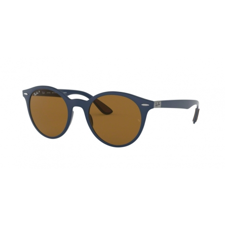 Ray-Ban RB4296 633183 | Frame: matte dark blue | Lenses: brown polarized