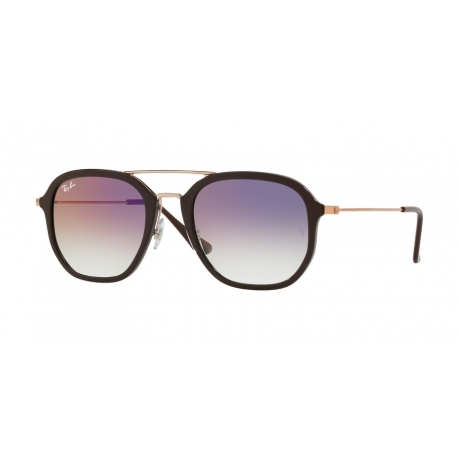 Ray-Ban RB4273 6335S5 | Frame: chocolate | Lenses: transparent gradient violet