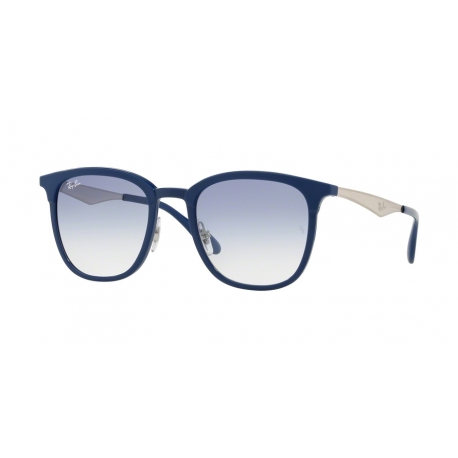 Ray-Ban RB4278 633619 | Frame: blue | Lenses: transparent gradient light blue