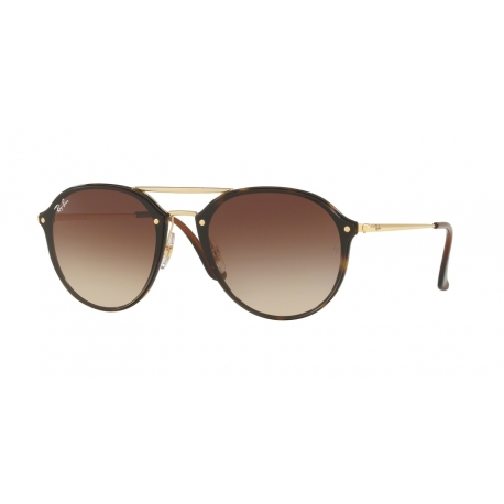 Ray-Ban RB4292N Blaze Doublebridge 710/13 | Frame: light havana | Lenses: brown gradient