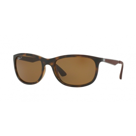 Ray-Ban RB4267 710/83 | Frame: light havana | Lenses: brown polarized