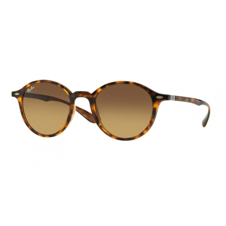Ray-Ban RB4237 710/85 | Frame: havana | Lenses: brown gradient dark brown