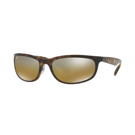 Ray-Ban RB4265 710/A2 | Frame: shiny havana | Lenses: bronze polarized silver mirror