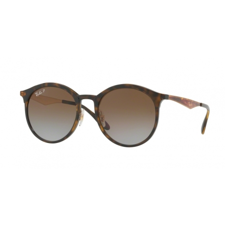 Ray-Ban RB4277F Emma 710/T5 | Frame: light havana | Lenses: light grey gradient brown polarized