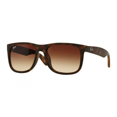 Ray-Ban RB4165F Justin 856/13 | Frame: light havana rubber | Lenses: gradient brown