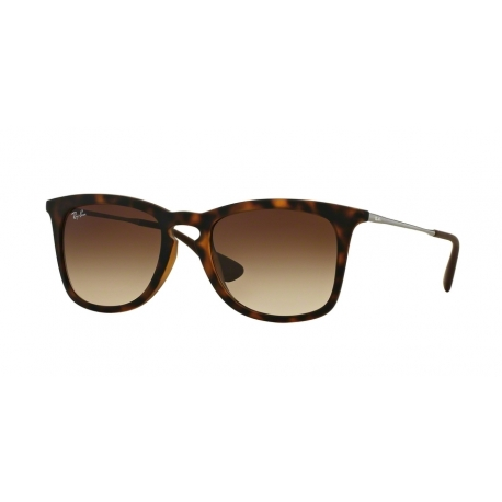 Ray-Ban RB4221F 865/13 | Frame: dark havana rubber | Lenses: brown gradient