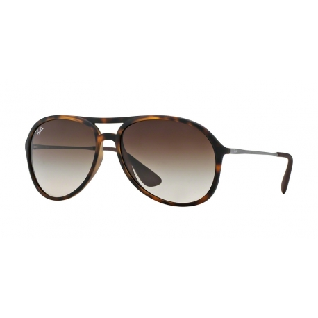 Ray-Ban RB4201 Alex 865/13 | Frame: havana rubber | Lenses: brown gradient