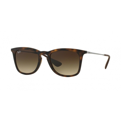 Ray-Ban RB4221 865/13 | Frame: dark havana rubber | Lenses: brown gradient