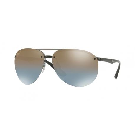 Ray-Ban RB4293CH 876/J0 | Frame: grey | Lenses: blue mirror gold gradient polarized