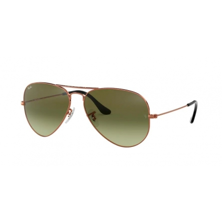 Ray-Ban RB3025 Aviator Large Metal 9002A6