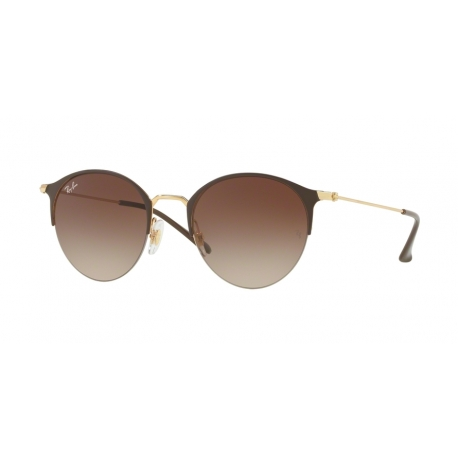 Ray-Ban RB3578 900913 | Frame: gold top brown | Lenses: brown gradient dark brown