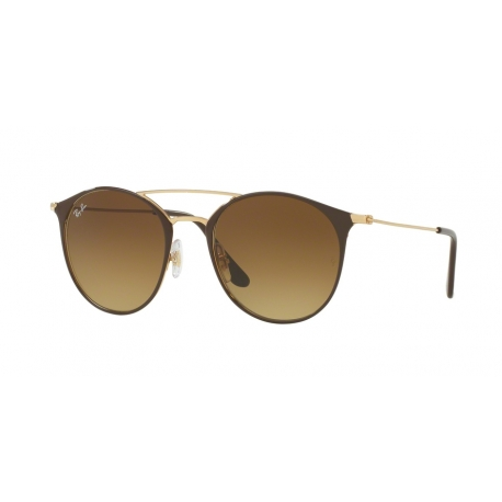 Ray-Ban RB3546 900985 | Frame: gold top brown | Lenses: brown gradient