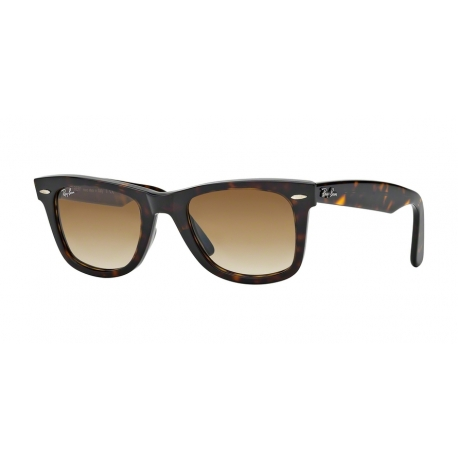 Ray-Ban RB2140 Wayfarer 902/51 | Frame: tortoise | Lenses: crystal brown gradient