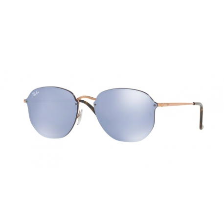 Occhiali Da Sole Ray Ban RB3579N Blaze Hexagonal Rame