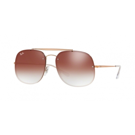 Ray-Ban RB3583N 9035V0 | Frame: copper | Lenses: transparent gradient red mirror red