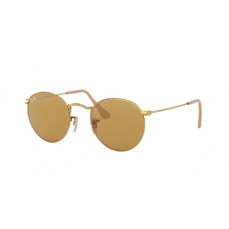 Ray-Ban RB3447 Round Metal 90644I
