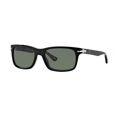 Persol PO3048S 95/31 | Frame: black | Lenses: crystal green