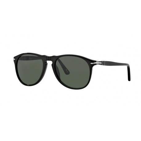 Persol PO9649S 95/31 | Frame: black | Lenses: crystal green