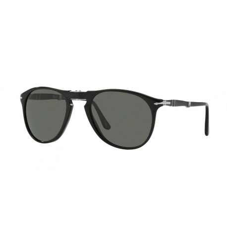 Persol PO9714S 95/31 | Frame: black | Lenses: green
