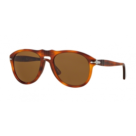 Persol PO0649 96/33 | Frame: light havana | Lenses: crystal brown