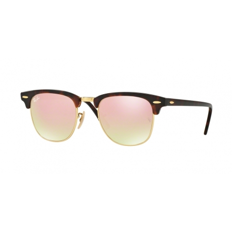 Sunglasses Ray-Ban | RB3016 Clubmaster - 990/7O | Frame: shiny red ...