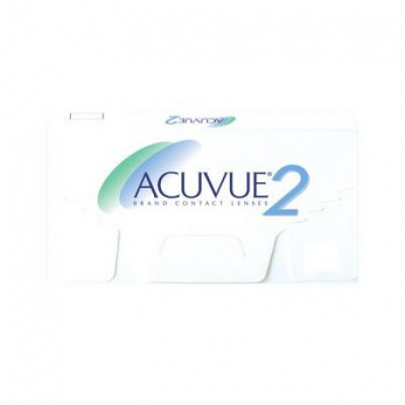 Johnson & Johnson ACUVUE 2 | Type: spherical for myopia and hypermetropia | Life: 2 week disposable