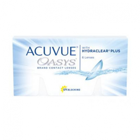 Johnson & Johnson ACUVUE OASYS | Type: spherical for myopia and hypermetropia in silicone hydrogel | Life: 2 week disposable