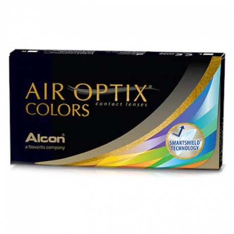 Ciba Vision AIR OPTIX COLORS | Type: spherical for myopia and hypermetropia cosmetic colored | Life: monthly disposable