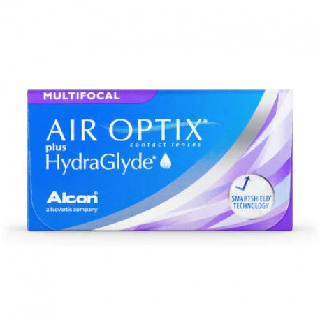 Ciba Vision AIR OPTIX plus HydraGlyde Multifocal | Type: multifocal for presbyopia | Life: monthly disposable