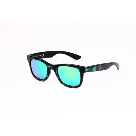 Ikona Augusta/S 9818RR | Frame: green and black | Lenses: green mirror