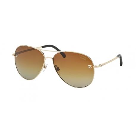 ba37d7709 Luxury Sunglasses Chanel | CH4189TQ - C395S9 | Frame: pale gold ...