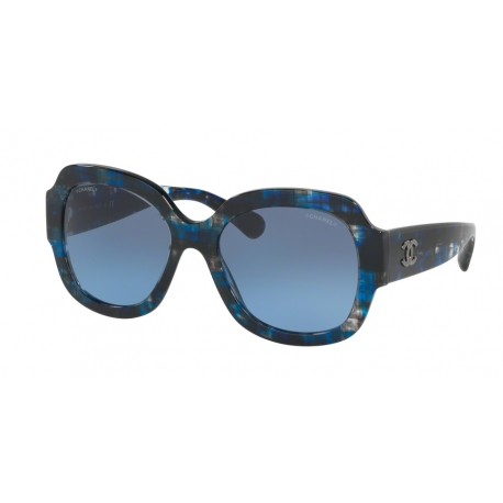 Sunglasses Chanel | CH5373 - 1606S2 | Frame: blue tweed | Lenses ...