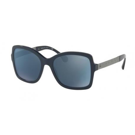 Sunglasses Chanel   CH5383A - 1619Z6   Frame: dark blue   Lens: dark ...