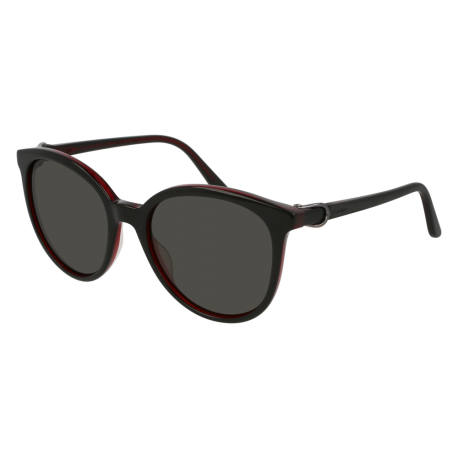 Cartier CT0003S 005 | Frame: black | Lenses: grey anti-reflective