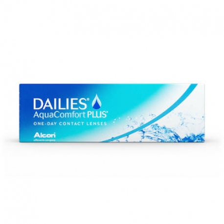 Ciba Vision Dailies All Day Comfort PLUS | Type: spherical for myopia and hypermetropia | Life: daily disposable