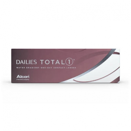 Ciba Vision Dailies Total1 | Type: spherical for myopia and hypermetropia | Life: daily disposable